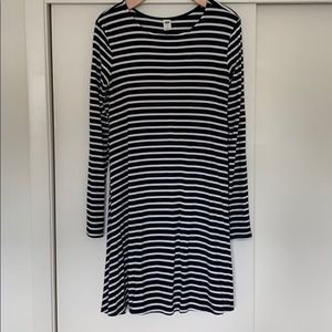 Black and White Swing Dress